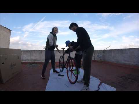 Unboxing Fixie Bike   Review Fixie   Tutorial Fixie Bike 2016