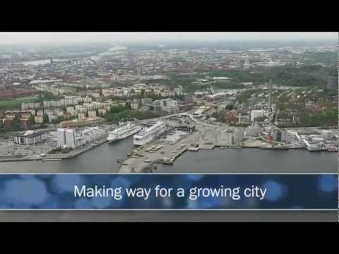Ports of Stockholm is rebuilding Värtahamnen port