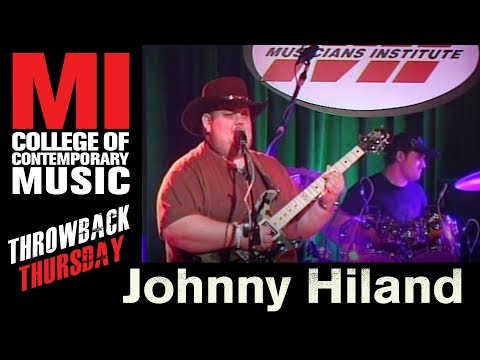 Johnny Hiland Throwback Thursday From the Library