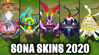 All Sona Skins Spotlight 2020 (League of Legends)