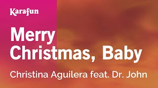 Karaoke Merry Christmas, Baby - Christina Aguilera *