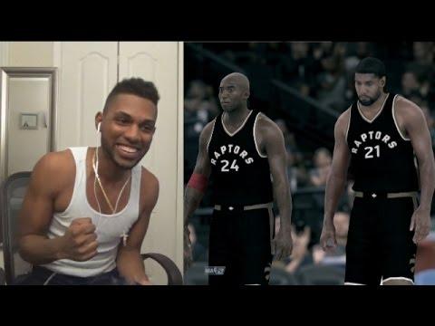 Download NBA 2K17 MyTEAM - Andre2K vs. @MyNamesSwifty l PD Isiah & Duncan GODSQUAD! (Warning: MUCH Salt)