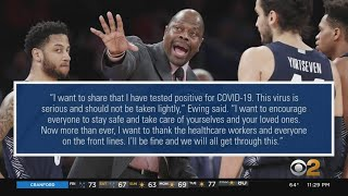 Knicks Great Patrick Ewing Tests Positive For Covid-19