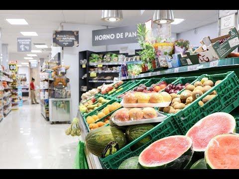 VÍDEO: Abre sus puertas en Lucena la cadena de supermercados El Jamón