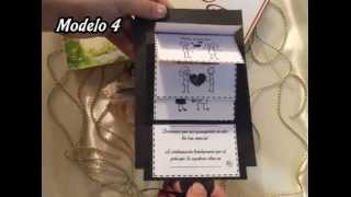 Tarjetas para bodas. 5 modelos. Diseños divertidos