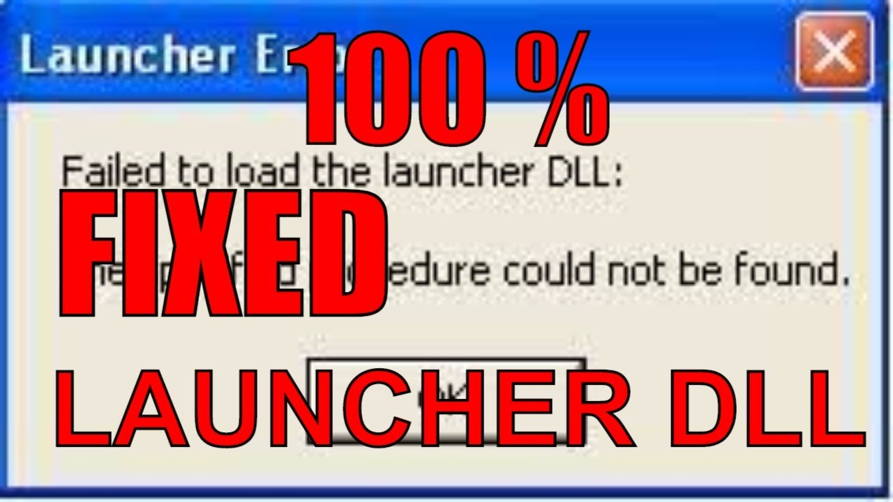 failed to load the launcher dll the specified module could not be found cs go