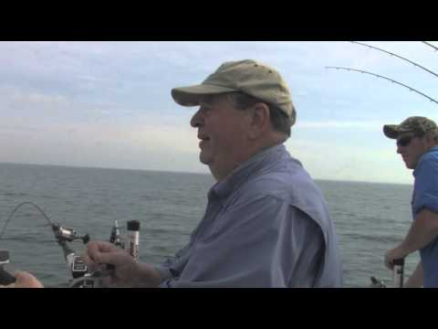 Fishing Lake Michigan