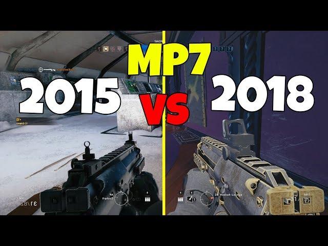 MP7 2015 vs 2018 - Rainbow Six: Siege