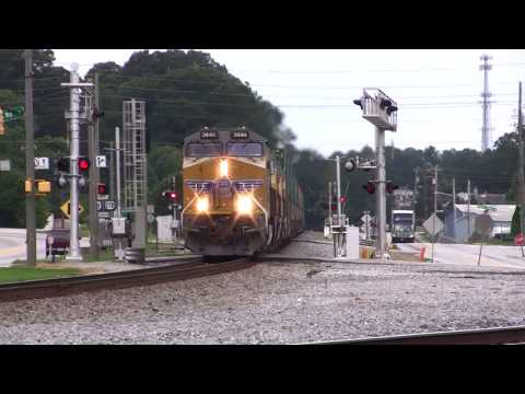 NORFOLK SOUTHERN  TRAINS IN AUSTELL AND MABLETON,GA. 8-2-2017