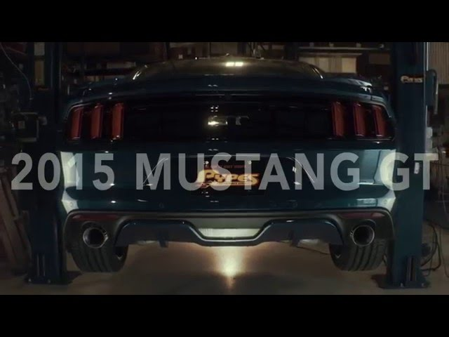 2015-17 Mustang Pypes Exhaust SP Touring Axleback