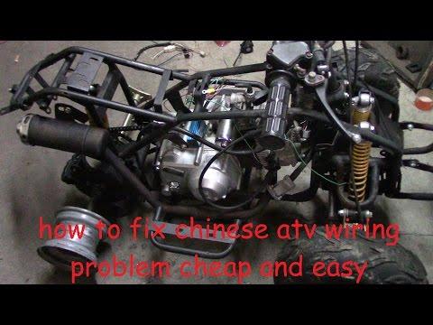 how to fix chinese atv wiring no wiring no spark no problem how to fix chinese atv wiring no wiring no spark no problem