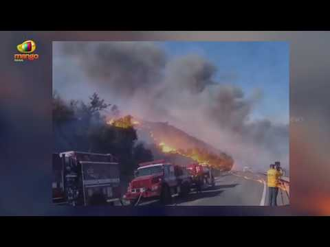 Fire Fighters Struggles To Control Southern California Wildfires | Mango News