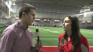 Former OSU forward Lindsay Agnew speaks about college career and future with Washington Spirit