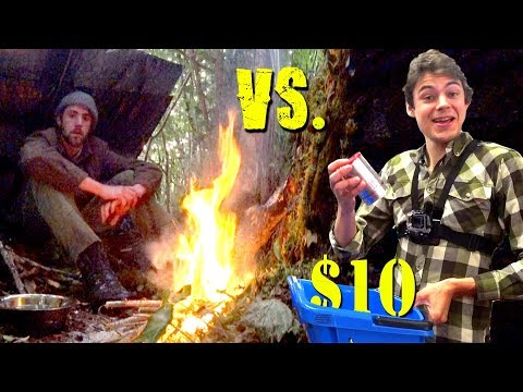 1 VS 1 Dollar Store Survival Challenge