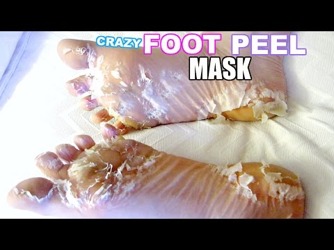 Thumbnail: I TESTED A CRAZY FOOT PEEL MASK!