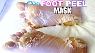 Скачать I TESTED A CRAZY FOOT PEEL MASK