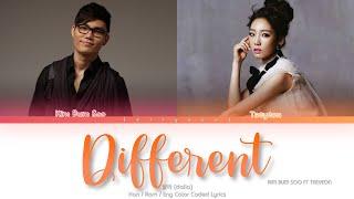 Kim Bum Soo Different (달라) ft. TAEYEON Color Coded Lyrics (Han/Rom/Eng)