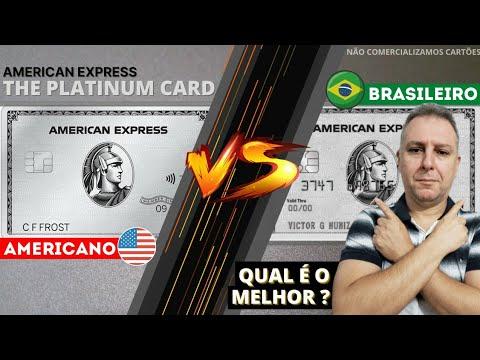 💳 CARTÃO DE CRÉDITO AMERICAN EXPRESS THE PLATINUM CARD, BRASIL X USA QUAL É O MELHOR🥇🥈