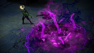 Path of Exile: Tentacle Caustic Arrow