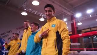 Открытая тренировка команды Astana Arlans