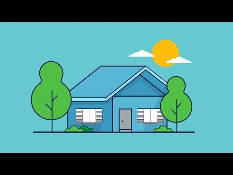 House Outline Illustration Tutorial Adobe illustrator thumbnail