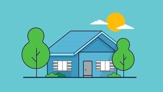 House Outline Illustration Tutorial Adobe illustrator