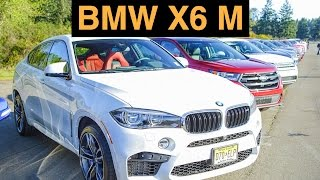 2015 BMW X6 M - Track Review & Test Drive