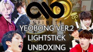 INFINITE 인피니트 Yeobong Ver.2 Lightstick Unboxing & App Tutorial