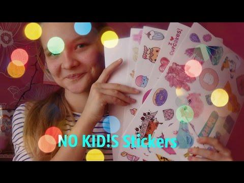 Заказ наклеек  с NO KID!S Stiсkers