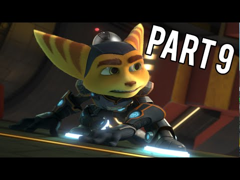 """Ratchet and Clank PS4! #9 """"GRAVITY BOOTS AND BOLTS"""""""