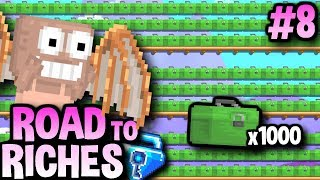 MAKING 1000+ TACKLE FARM | Road To Riches #8 | Growtopia