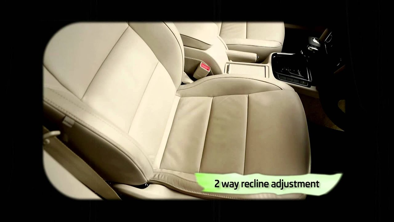 Skoda Superb 12 Way Electrically Adjustable Front Seats Youtube