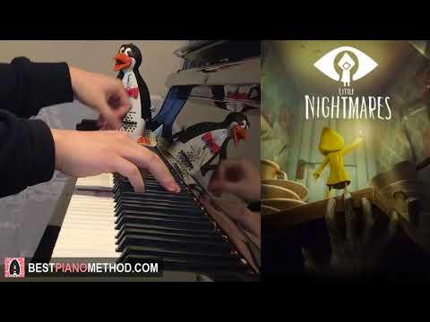 """LITTLE NIGHTMARES Song - """"Hungry For Another One"""" by JT Machinima (Piano Cover by Amosdoll)"""