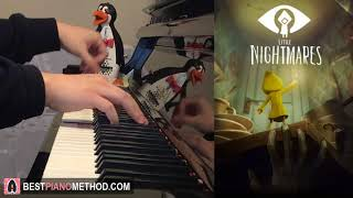 LITTLE NIGHTMARES Song - 'Hungry For Another One' by JT Machinima (Piano Cover by Amosdoll)