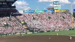 【北海高校】 「ガラガラヘビがやってくる」 (2016夏 甲子園 決勝戦)