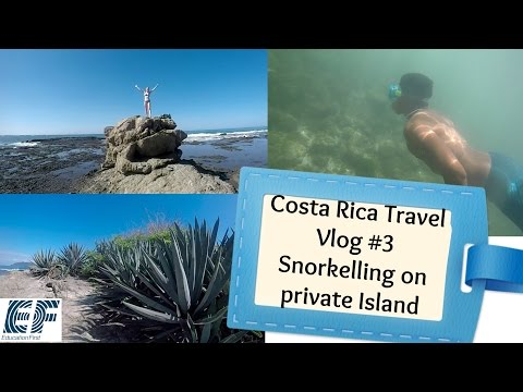 Costa Rica Travel Vlog #3 | Snorkelling and Graduation from EF School