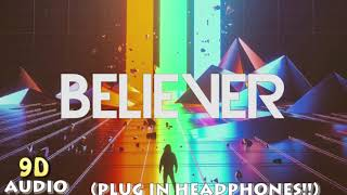 Gambar cover Imagine Dragons-Believer (9D Audio)