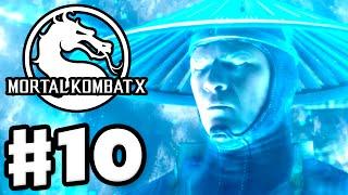 Mortal Kombat X - Gameplay Walkthrough Part 10 - Chapter 10: Raiden (PC, PS4, Xbox One)