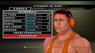 Como crear a Michael Cole en WWE SVR 2011 PS2 WWE 12 Y WWE 13 WII