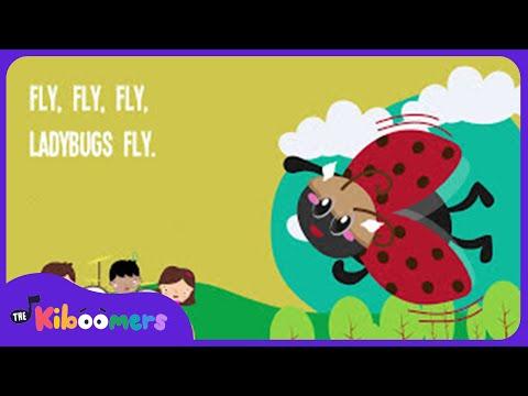 Ladybug Song | Kids Song | Nursery Rhyme | Lyrics