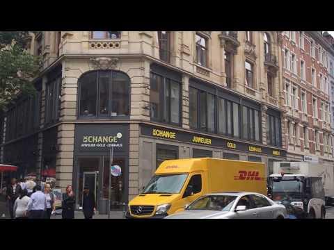Germany: Frankfurt Wochenmarkt Kaiserstraße Bahnhofsviertel I BBQ Weekly Market HD