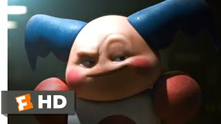 Pokémon Detective Pikachu (2019) - Mr. Mime Interrogation Scene (2/10) | Movieclips