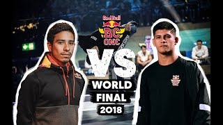 Victor (USA) vs. Leony (BRA) | Top 16 | Red Bull BC One World Final 2018