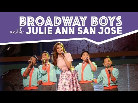 Broadway Boys w/ Ms. Julie Anne San Jose | January 13, 2018