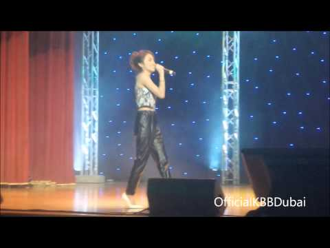 Kathryn Bernardo - Blank Space - KathNiel Live in Dubai January 1, 2015