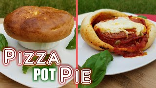 Pizza Pot Pie Recipe - Whats For Din? - Courtney Budzyn - Recipe 55