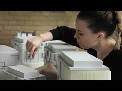Eckwerk 3D Printing Large Architectural Model BigRep Large-Scale 3D Printer
