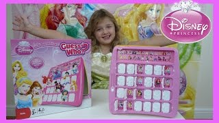 disney princess guess who game   awesome disney princess fun game   the disney toy collector