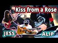 Alip Ba Ta & Jess Mancuso – Kiss From A Rose – Seal – Vocals, Fingerstyle Guitar, Piano, Violin