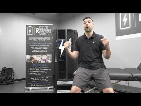 Nick Crawford explains cryotherapy